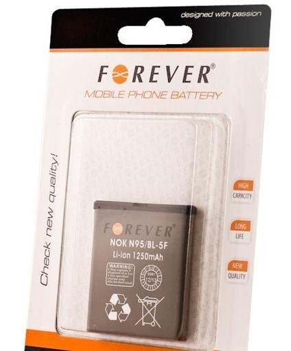 Μπαταρία Forever  BL-5F για Nokia N95 Li-Ion - 1250mAh