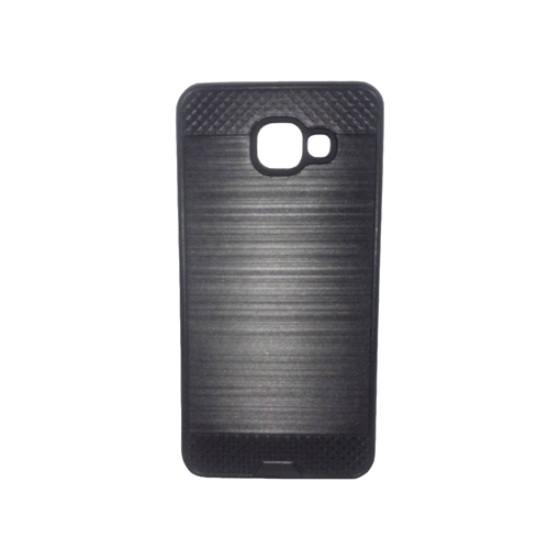 free shipping 268e6 862cd Back Cover Bumper Metalic Look Case for Samsung A310F Galaxy A3 2016