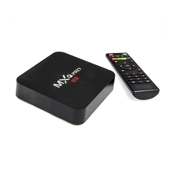 Εικόνα της MXQ PRO 4K SMART SET TV BOX S905 ANDROID 5.1 ΔΕΚΤΗΣ 2G/16G
