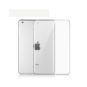 Εικόνα της Θήκη Πλάτης Σιλικόνης για Apple iPad Mini 1/2/3 - Χρώμα: Διάφανο