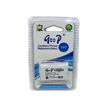 Picture of Επαναφορτιζόμενη Μπαταρία - GooP Cordless Phone Replacement Battery GD-102 3.6V 800mAh