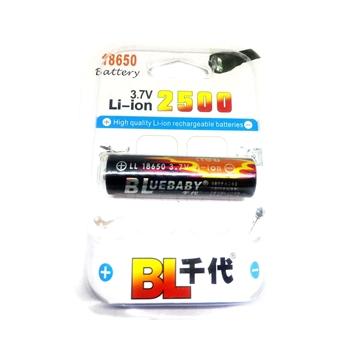 """Εικόνα της BLUEBABY Rechargeable 3.7V """"3000mAh"""" 18650 Li-ion Battery"""