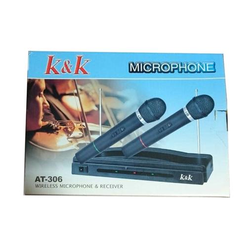 K Amp K At 306 Wireless Microphone Amp Receiver Hamza Telecoms