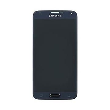 Γνήσια Οθόνη - Lcd & Μηχανισμός Αφής για Samsung SM-G900F Galaxy S5 Μαύρη