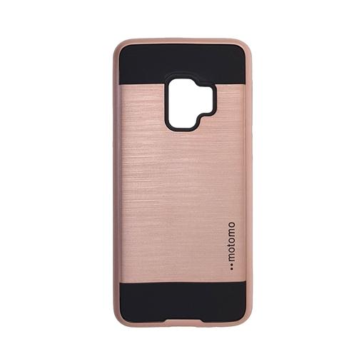 Θήκη Motomo για Samsung Galaxy S9 - Χρώμα: Χρυσό Ρόζ