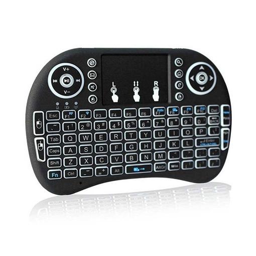 Ασύρματο πληκτρολόγιο χειρός αφής με φωτισμό mini keyboard – KB750W