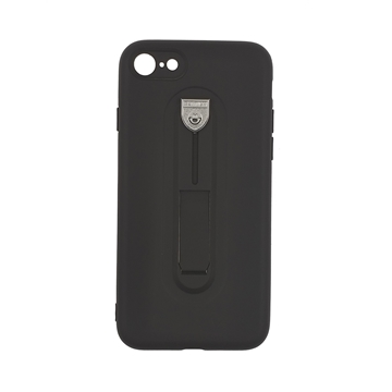 Hybrid Armor Case with Air Cushion for iPhone 7G/8G (4.7) - Color : Black