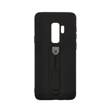 Hybrid Armor Case with Air Cushion for Samsung Galaxy S9 Plus (G965F) - Color : Black