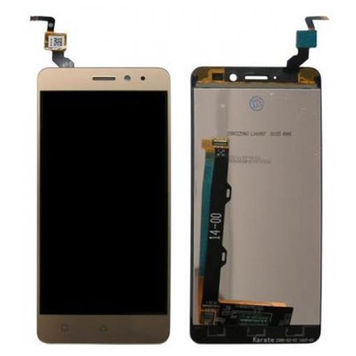 LCD Screen and Touch Digitizer for Lenovo K33A48 / K6 Power - Gold