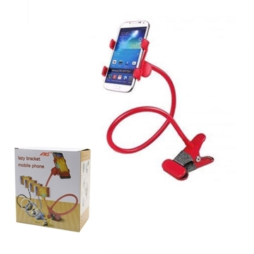 OEM Universal Lazy Bracket for Mobile Phone - Color: Red