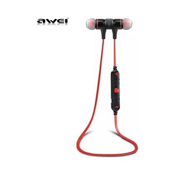 Εικόνα της Bluetooth Awei A920 BL Wireless Sports Earphones - Χρώμα: Κόκκινο