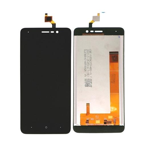 Οθόνη LCD και Αισθητήρας Αφής για Wiko Lenny 4 - Χρώμα: Μαύρο