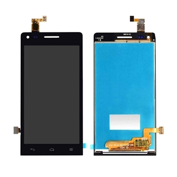 Οθόνη LCD και Μηχανισμός Αφής Assembly για Huawei G6-U10 Ascend G6 - Χρώμα: Μαύρο