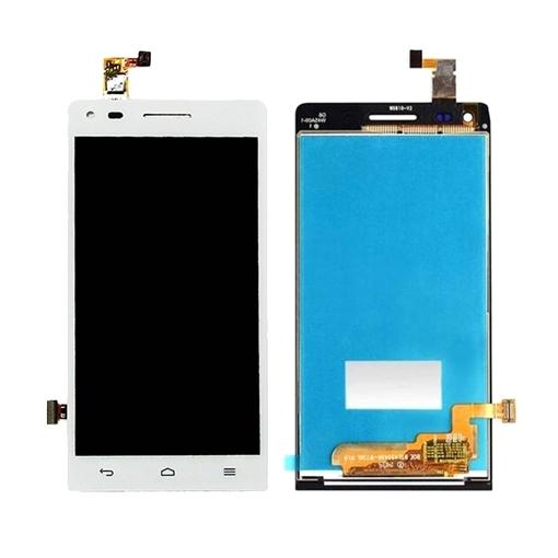 Οθόνη LCD και Μηχανισμός Αφής Assembly για Huawei G6-U10 Ascend G6 - Χρώμα: Λευκό