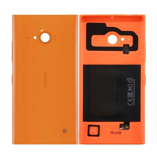 competitive price 1e2a7 65924 Back Cover for Nokia Lumia 730-735 - Colour: Orange