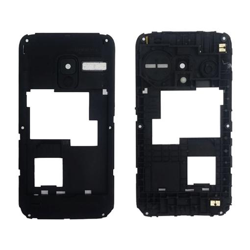 factory price 748ec 5256c Middle Frame for Alcatel 2008G - Color: Black