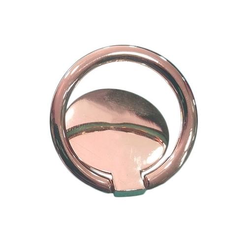 Unipha Δαχτυλίδι Βάσης Στήριξης Κινητού Circle Ring Phone Stand - Χρώμα: Χρυσό Ροζ