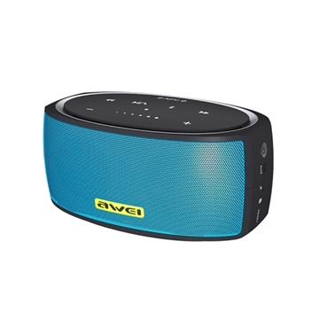 Awei Y210 Ασύρματο Ηχείο Touch Portable Bluetooth V4.2 Wireless Stereo Speaker- Χρώμα: Μπλε