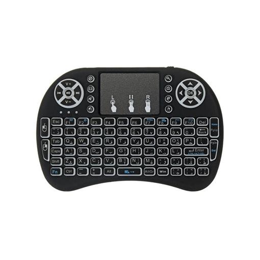 Ασύρματο Πληκτρολόγιο Bluetooth Πολυμέσων με Touchpad Multimedia Mini Keyboard