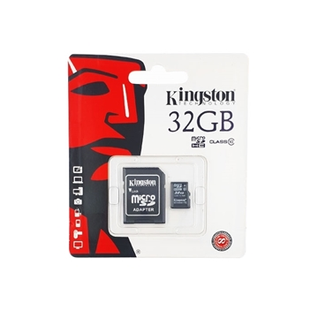 Κάρτα Μνήμης Kingston MicroSD HC 32GB Class 10 με Adapter (SDC10/32GB)