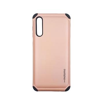 Θήκη Motomo Tough Armor για Samsung A505F Galaxy A50 - Χρώμα: Χρυσό Ροζ