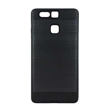 Θήκη Πλάτης Tough Brushed Cover για Huawei P9 - Χρώμα: Μαύρο