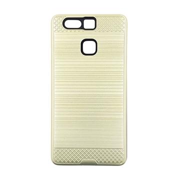 Θήκη Πλάτης Tough Brushed Cover για Huawei P9 - Χρώμα: Χρυσό