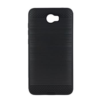 Θήκη Πλάτης Tough Brushed Cover για Huawei Y5II/Y5 2/Honor 5 - Χρώμα: Μαύρο