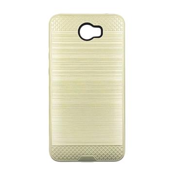 Θήκη Πλάτης Tough Brushed Cover για Huawei Y5II/Y5 2/Honor 5 - Χρώμα: Χρυσό