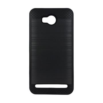 Θήκη Πλάτης Tough Brushed Cover για Huawei Y3II/Y3 2 - Χρώμα: Μαύρο