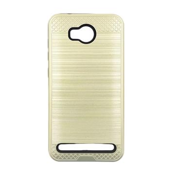 Θήκη Πλάτης Tough Brushed Cover για Huawei Y3II/Y3 2 - Χρώμα: Χρυσό