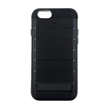 Θήκη Πλάτης Brushed Hard Armor για Apple iPhone 6/6s - Χρώμα: Μαύρο