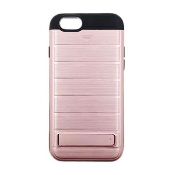 Θήκη Πλάτης Brushed Hard Armor για Apple iPhone 6/6s - Χρώμα: Ροζ