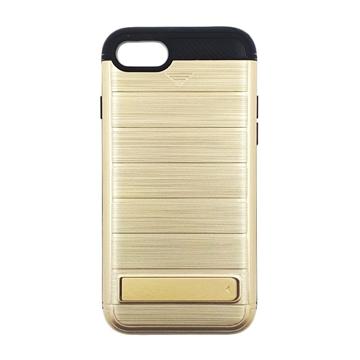Θήκη Πλάτης Brushed Hard Armor για Apple iPhone 7/8 - Χρώμα: Χρυσό