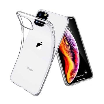 Θήκη Πλάτης Σιλικόνης για Apple iPhone 11 Pro - Χρώμα: Διάφανο