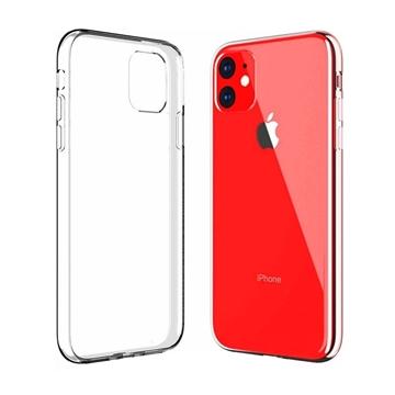 Θήκη Πλάτης Σιλικόνης για Apple iPhone 11 - Χρώμα: Διάφανο