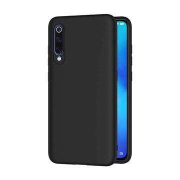 Θήκη Πλάτης Σιλικόνης Matte για Xiaomi Mi 9 - Χρώμα: Μαύρο