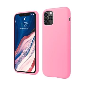 Θήκη Πλάτης Σιλικόνης για Apple iPhone 11 Pro - Χρώμα: Ροζ