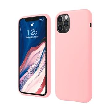 Θήκη Πλάτης Σιλικόνης για Apple iPhone 11 Pro - Χρώμα: Χρυσό Ροζ
