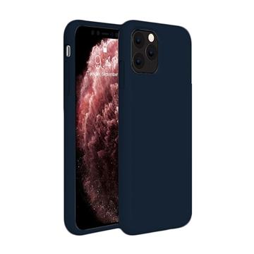Θήκη Πλάτης Σιλικόνης για Apple iPhone 11 Pro Max - Χρώμα: Σκούρο Μπλε