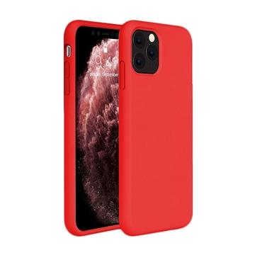 Θήκη Πλάτης Σιλικόνης για Apple iPhone 11 Pro Max - Χρώμα: Κόκκινο