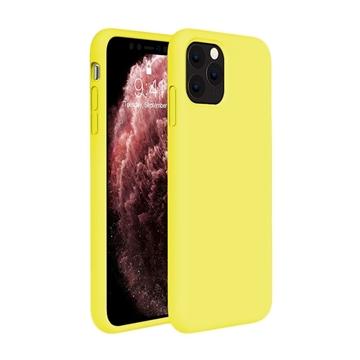 Θήκη Πλάτης Σιλικόνης για Apple iPhone 11 Pro Max - Χρώμα: Κίτρινο