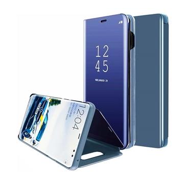 Θήκη Clear View Stand για Samsung G935F Galaxy S7 Edge - Χρώμα: Μπλε
