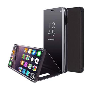 Θήκη Clear View Stand για Xiaomi Redmi 6A - Χρώμα: Μαύρο