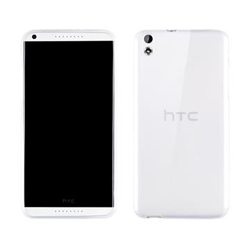 Θήκη Πλάτης Σιλικόνης για HTC Desire 816 - Χρώμα: Διάφανο