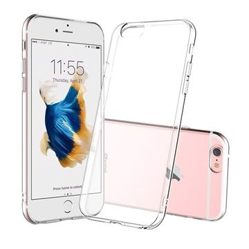 Θήκη Πλάτης Σιλικόνης για Apple iPhone 6 Plus/6S Plus - Χρώμα: Διάφανο