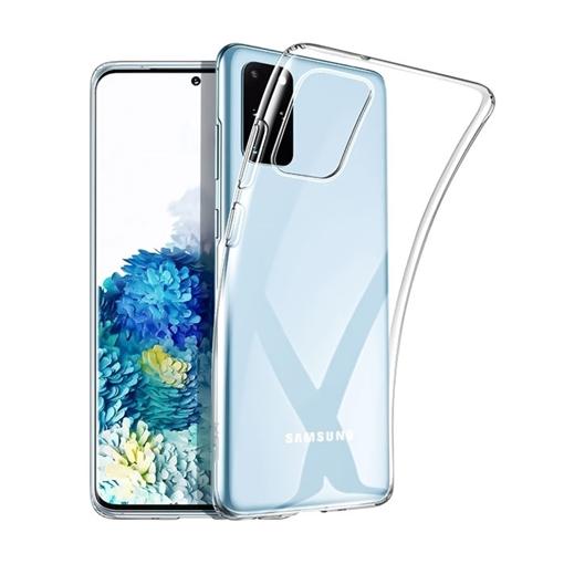 Θήκη Πλάτης Σιλικόνης για Samsung G980F Galaxy S20 - Χρώμα: Διάφανο