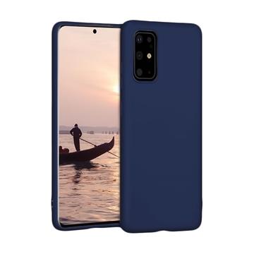 Θήκη Πλάτης Σιλικόνης για Samsung G985F Galaxy S20 Plus - Χρώμα: Σκούρο Μπλε