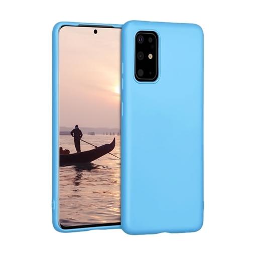 Θήκη Πλάτης Σιλικόνης για Samsung G985F Galaxy S20 Plus - Χρώμα: Γαλάζιο