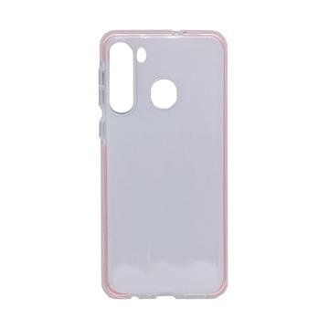 Εικόνα της Θήκη Πλάτης Σιλικόνης για Samsung A215 Galaxy A21 - Χρώμα: Ροζ
